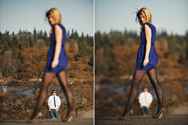 Port Gamble Engagement Photography
